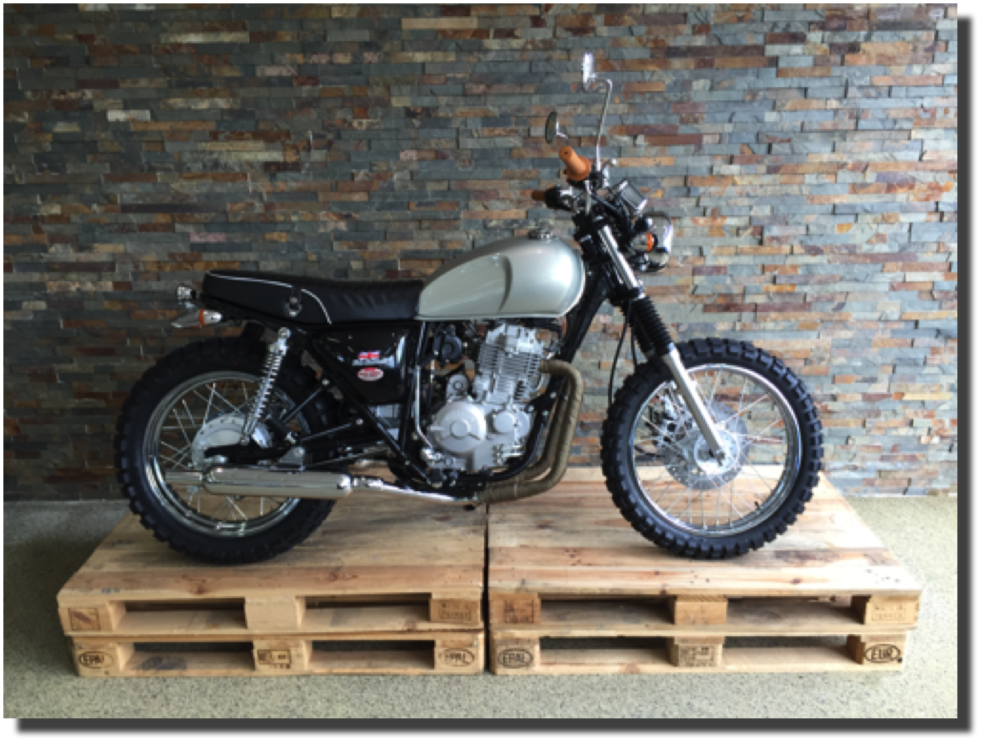 Mash Five Hundred Scrambler Mustang silber Motos Wernli Kölliken